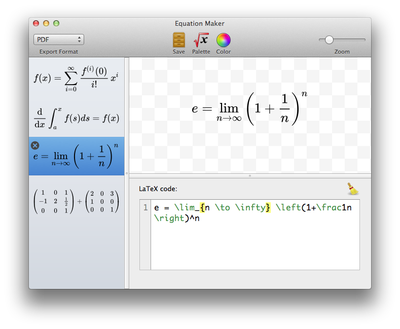Equation Maker screenshot